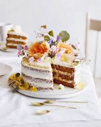 Layered Carrot Cake With Cream Cheese Frosting From Whatsgabycooking Whatsgabycookin