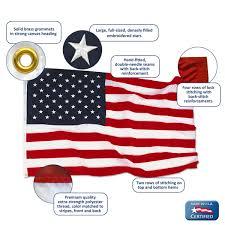 4ft x 6ft American Flag Nylon US Flag Warehouse