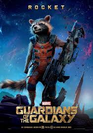 Guardians Of The Galaxy Poster Rocket