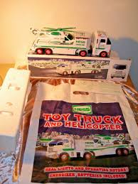 100 2006 Hess Truck Toy Helicopter With Original Bag Never Played With