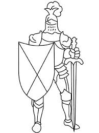 Apples4theteacher Coloring Pages Knight