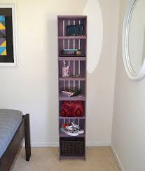 Wood Crate Shelf Diy by Easy Crate Shelves Dream A Little Bigger