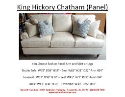 King Hickory Sofa Quality by Barnett Furniture Apartment Size 72