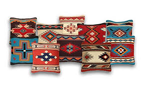 El Paso Designs Throw Pillow Covers 18 X 18 Hand Woven Wool in