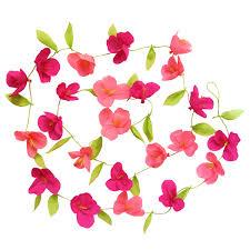 Dessin Doiseau Colibri Couleur Fleurs Hibiscus Image Vectorielle