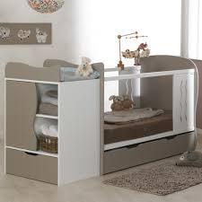 chambre bébé lit plexiglas lit bebe evolutif avec tiroir blanc 70x140 marilinm01e