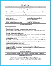 Medical Billing And Coding Specialist Resume Examples Beautiful Exciting That Brings The Job