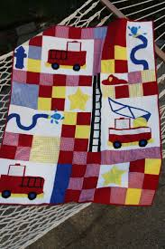 113 Best Quilts Images On Pinterest | Baby Afghans, Baby Blankets ... Kidkraft Fire Truck Toddler Bedding 77003 99 Redwhiteblue Baby Quilt Unavailable Launis Rag Firetruck Police Car And Ambulance Panel Amazoncom Carters 4 Piece Bed Set Dalmatian Fighter Crib Adorable Puppy Dalmatians Red White Blue At Artisans Folk Art Antiques Outsider Fireman Engines Trucks On Black Novelty Fabric Fat Boys Firefighter Dog 13 Pc Rescue Perfect Set For A Little Boys Room Kids Home Vintage Twin