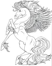 Unicorn Coloring Pages For Adults Best To Color Images On Unicorns And