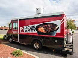 Shogun Express – You've Chosen Wisely The Electric Food Truck Revolution Green Action Centre Marijuana Food Truck Makes Its Denver Debut Eco Top Stock Photo Picture And Royalty Free Image Whats On The Menu 12 Trucks At Guthrie Wednesdays Eat Up Bonnaroo Expands And Beer Tent Options For 2015 Axs Red Koi Lounge Grillgirl Guide Acres Ice Cream Buffalo News Banner Or Festival Vector Seattle Shawarma Food Reggae Chicken Archives Bench Monthly