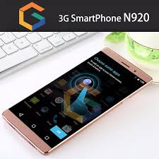 2016 6 Inch Big Touch Screen OEM android mobile phone N920 Sample