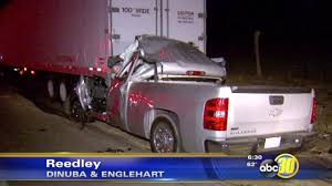 Pickup Truck Driver Killed In Crash Near Reedley | Abc30.com Are You A Truck Driver What To Know Before Ending Up In An Accident Fedex Truck Driver Deemed Responsible For Crash That Killed 10 Uerstanding Distracted Driving Ernst Law Group Amberson Personal Injury Commercial Accidents Romian Died Car Accident On The D2 Motorway Near Update Charged Suffolk School Bus Crash Expert Fairbanks Crashes Into Semi Police Locate Fatal Bike Boston Herald Palm Springs Arrested Georgia Causing Youtube Determing Whos At Fault For Trucking Vs