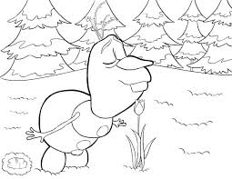 Printable Frozen Olaf Coloring Pages Free 30 Colouring