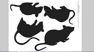 Cat Paw Print Pumpkin Stencil by Black Cat Template Diy Cat Template Etsy Studio 10 Fun Family