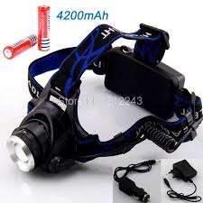 rechargeable cree xml t6 200lumens zoom l led headl