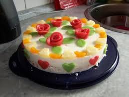 ananas marzipan torte