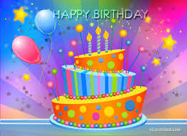 Animated Birthday Cakes With Wishes Pics