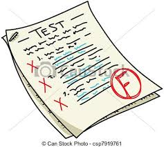 Fail test Clipart and Stock Illustrations 1 125 Fail test vector