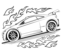 Free Printable Hot Wheels Coloring Pages For Kids New Girl
