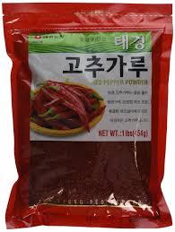 100 Ta E Amazoncom Ekyung Korean Red Chili Pepper Flakes Powder