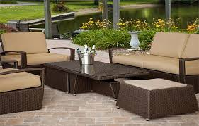 Outdoor Sectional Sofa Canada by Outdoor Wicker Furniture Canada Simplylushliving