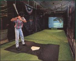 indoor batting cage for the future barn fowler home pinterest