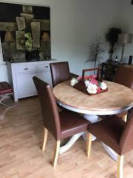 100 Oak Pedestal Table And Chairs OAK PEDESTAL TABLE In Southport Merseyside Gumtree