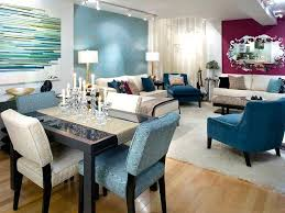 Combined Living Room Dining Surprising Combo Decor Combination For Small Space Designs