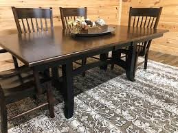 Amish Made Solid Wood Dining Table & Chairs - Mountain Top ... Maple And Black Kitchen Sets Edina Design Formal Ding Room Fniture Ethan Allen Solid Maple Ding Table With 6 Chairs And 2 Leaves 225 Bismarck Nd Uhuru Colctibles 1950s Table W Baytown Asbury 60 Round 90 Off Custom Made Tables Home Decor Amusing Chairs Inspiration Saber Drop Leaf Chair Set By Lj Gascho At Morris Christy Shown In Grey Elm Brown A Twotone Michaels Cherry Onyx Finish Includes 1 18 Leaf Kalamazoo Dinner Vintage W2 Leaves Hitchcock Corner Woodworks Vermont