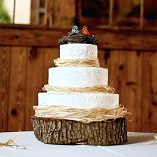 Log Wedding Cake Stand Wooden Ideas Rustic Cheesecake Uk