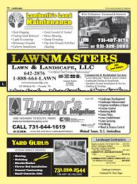 Landscape Contractors - Tri County TN Page 70 Yellow Pages