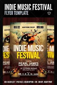 Alternative Indie Rock Club And Party Flyer Templates Psd Download