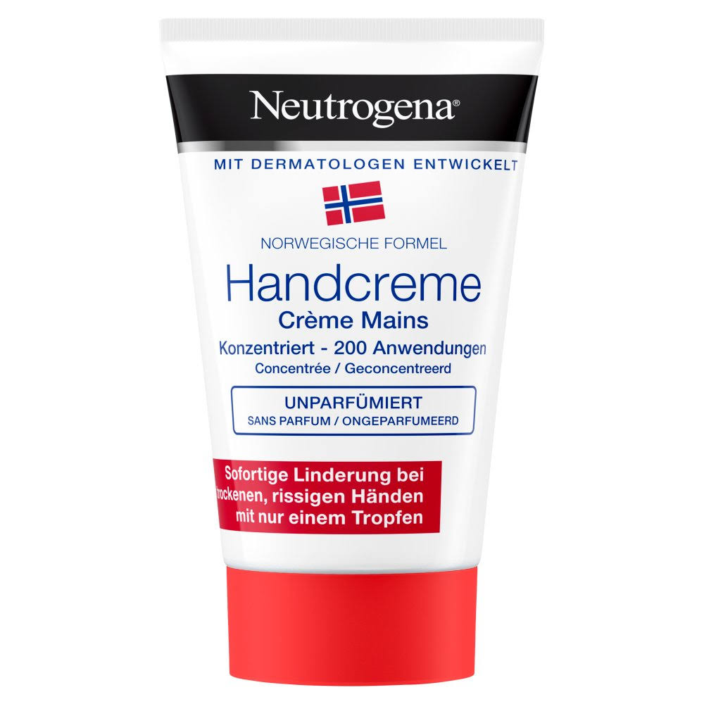 Neutrogena Norwegian Formula Concentrated Unscented Hand Cream - 50ml