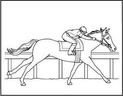 8 FREE Printable Horse Coloring Pages
