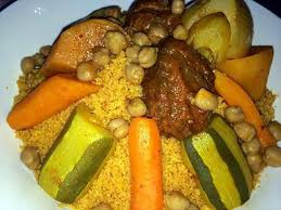 recette cuisine couscous tunisien recette de couscous tunisien aux légumes par chadiray