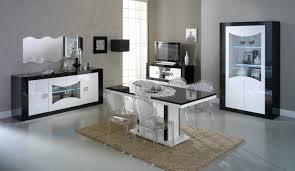 salle a manger complet salle à manger design lumineuse et blanche nevis gdegdesign