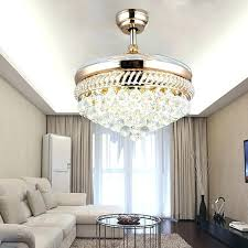 Unusual Ideas Design Crystal Chandelier Ceiling Fan Combo Combination With Wonderful Picturesque To