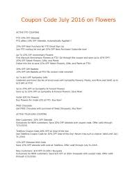 Coupon Code July 2016 On Flowers By Thanh Le - Issuu Save 50 On Valentines Day Flowers From Teleflora Saloncom Ticwatch E Promo Code Coupon Fraud Cviction Discount Park And Fly Ronto Asda Groceries Beautiful August 2018 Deals Macy S Online Coupon Codes January 2019 H P Promotional Vouchers Promo Codes October Times Scare Nyc Luxury Watches Hong Kong Chatelles Splice Discount Telefloras Fall Fantasia In High Point Nc Llanes Flower Shop Llc