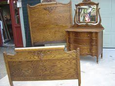 Tiger Oak Serpentine Dresser by Antique Tiger Oak Dresser With Beveled Mirror Oak Dresser