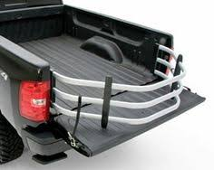 Silverado Bed Extender by Fold Down Truck Bed Extender Anodized Silver Truck Bed