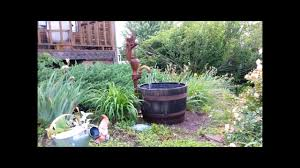 Making A Well Pump Whiskey Barrel Fountain - YouTube Outdoor Fountains At Lowes Pictures With Charming Backyard Expert Water Gardening Pond Pump Filter Solutions For Clear Backyards Mesmerizing For Water Fountain Garden Pumps Total Pond 70 Gph Pumpmd11060 The Home Depot Large Yard Outside Fountain Have Also Turned An Antique Into A Diy Bubble Feature Ceramic Sphere Pot Sunnydaze Solar Pump And Panel Kit 80 Head Medium Oput 1224v 360 Myers Well Youtube