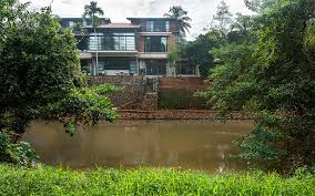 104 River Side House By The In Kozhikode Beautiful Homes