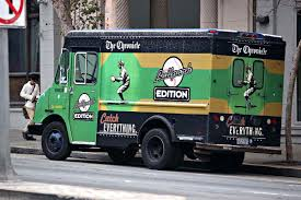 Baseball-Themed Newspaper Truck – Catch Everything – Ballpark ... Koja Kitchen Truck San Francisco Food Trucks Roaming Hunger Fire Photos Kenworth Pumper Engine 1 Sffd Youtube Driver Garbage American Simulator To Las Vegas Gameplay Smothered Fries New Years Day Brunch Funcheapsfcom 10 Essential For Summer Eater Sf Truck California Usa Stock Photo Royalty Has Nowhere Put Collection Of 100yearold Antique Fire Spartanerv Department Ca Jesus Free Image