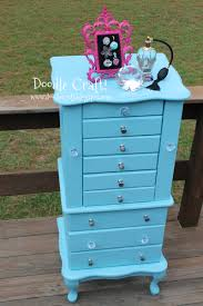 Doodlecraft: Vintage Jewelry Armoire Redo/DIY! Antique Jewelry Armoire Masterpiece Parchment Hand Painted Pjh Designs Fniture Shabby Chic Pink 11 Best Jewelry Boxes Images On Pinterest Armoire Rustic Inspiration Expanded Your Mind Powell Chalk Vintage Best 25 Ideas Cabinet And Distressed In Robin Egg Blue 0