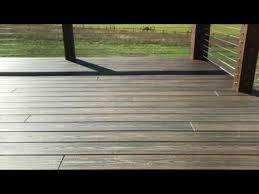 trex transcend decking noise and howling youtube