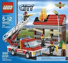 Amazon.com: LEGO City Fire Emergency 60003: Toys & Games