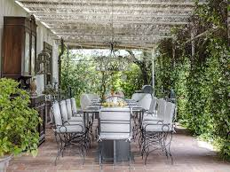 The Outdoor Dining And Living Area