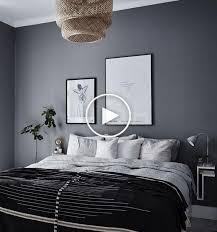 10 dunkle schlafzimmerwände skandinavisches schlafzimmer