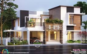 100 Contemporary Houses Beautiful Contemporary Style Residence 32 Lakhs In 2019
