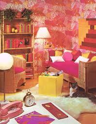 1976 Dream Teen Bedroom Complete W Cat Ingenue Magazine Fushia Pink Yellow Fuchsia